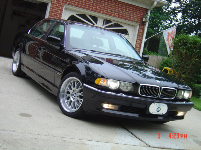 This is the one: 2001 BMW 740IL XENON & NAVIGATION Call Val now: